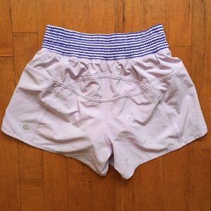 lululemon athletica Shorts - Lululemon running shorts